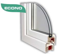 Gealan Comfort Econo 6K 74 mm