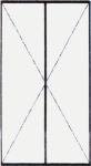 Vch. Dvere dvojkrídlové - štulpové bez výplne