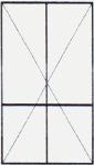 Vch. Dvere dvojkrídlové - Delené 2/3 PVC - 1/3 PVC