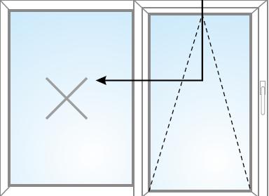 Fix v ráme + posúvne a sklopiteľné