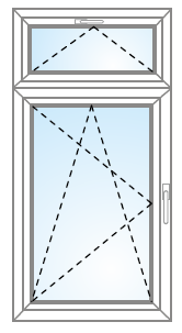 Otvárateľné/sklopiteľné so sklopiteľným nadsvetlíkom